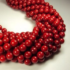 Bamboo coral red spherical shape-0