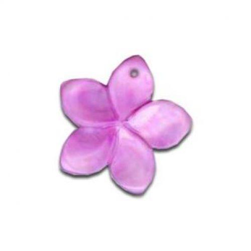 Perlmutt blumen lila-0
