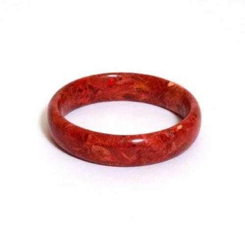 Korallen Armreif rot-0
