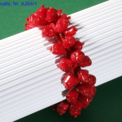 Korallen Armband rot-0