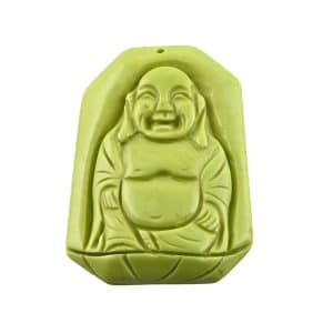 Magnesit Buddha Pedant green-0