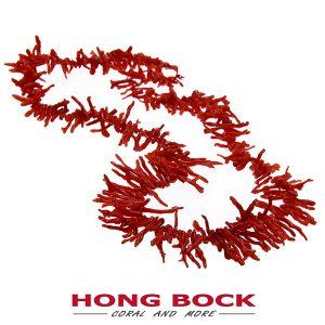 HONG BOCK-Korallen Äste Kette rot-0
