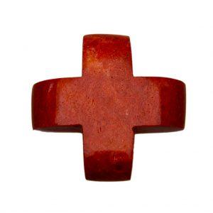 HONG BOCK-Schaumkorallen Kreuz rot-0