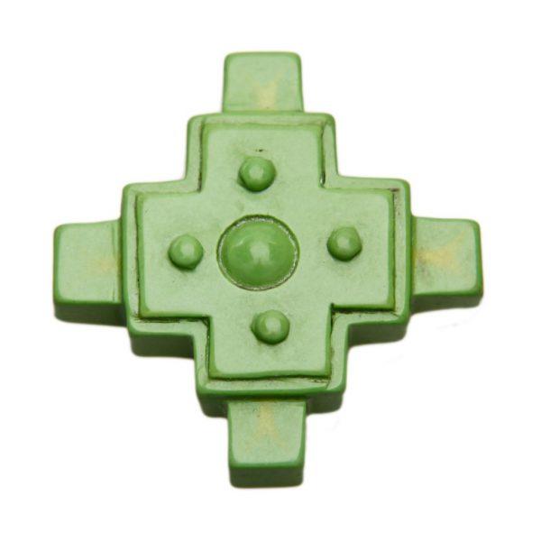 HONG BOCK-Magnesit Kreuz grün-0