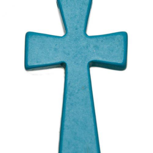 HONG BOCK-Magnesit Kreuz blau-0