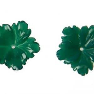 Grünachat Blüte grün-0