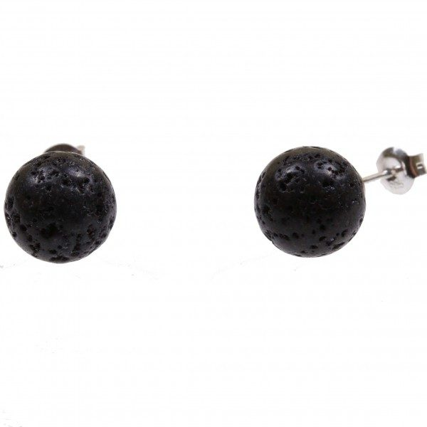 Lava Ohrstecker in 4mm-0