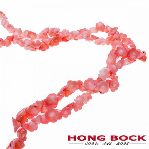 Bambuskorallen Rosen in pink-0