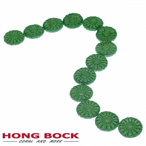 Magensit Sonnenblumen Strang grün in 33mm-2074