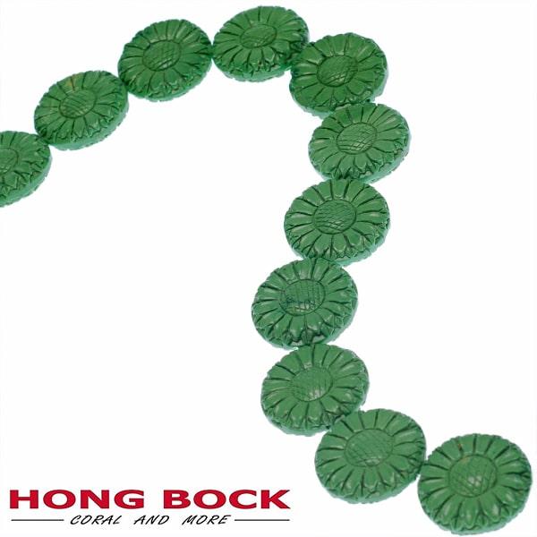 Magensit Sonnenblumen Strang grün in 33mm-0