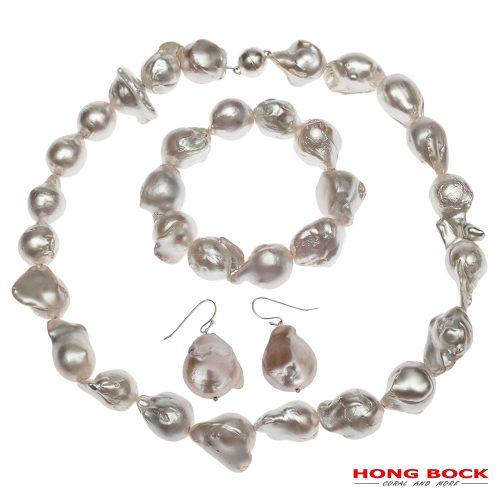 HONG BOCK- Zucht Barock Perlen Set-0