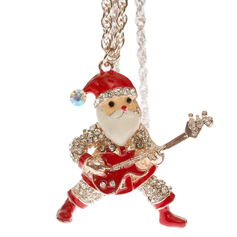 Weihnachtsmann Rockroll kette aus Messing in 80cm lang-2361