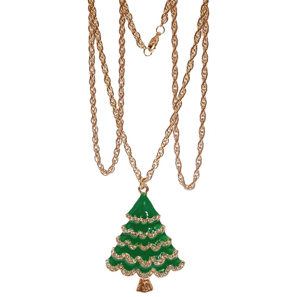 Weihnachtsbaum kette aus Messing in 80cm lang-2368