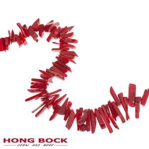 HONG BOCK-Bambuskorallen stäbchen äster in rot-0